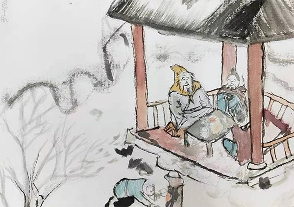 用gu典美wen、水mo,jin润青春的年华